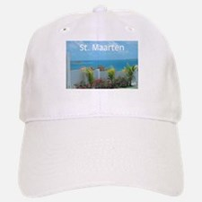St. Maarten Seascape-1 Baseball Baseball Cap