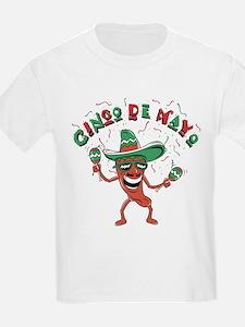 Cinco de Mayo Chili Pepper T-Shirt