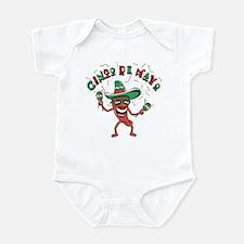 Cinco de Mayo Chili Pepper Infant Bodysuit