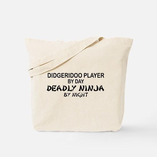 Didgeridoo Deadly Ninja Tote Bag