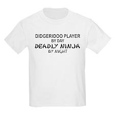 Didgeridoo Deadly Ninja T-Shirt