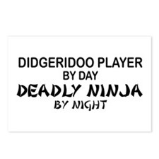 Didgeridoo Deadly Ninja Postcards (Package of 8)