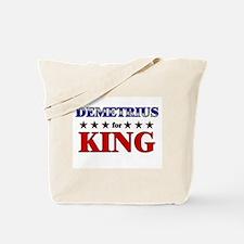 DEMETRIUS for king Tote Bag