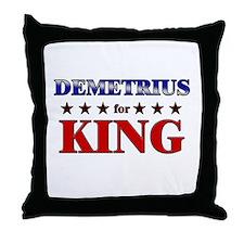 DEMETRIUS for king Throw Pillow