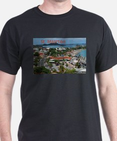 St. Maarten-Downtown by Khonc T-Shirt