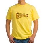 Old School Player Yellow T-Shirt