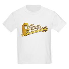 Old School Player Kids T-Shirt