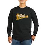 Old School Player Long Sleeve Dark T-Shirt