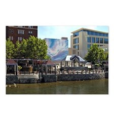 Reno Riverwalk on the Truckee Postcards (Package o