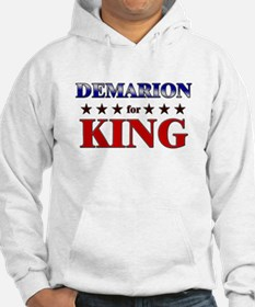 DEMARION for king Hoodie