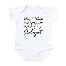 Don't Shop, Adopt Infant Bodysuit