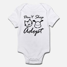 Don't Shop, Adopt Infant Bodysuit