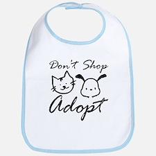 Don't Shop, Adopt Bib
