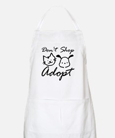 Don't Shop, Adopt BBQ Apron
