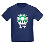1up Mushroom Kids Dark T-Shirt