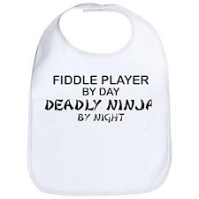 Fiddle Player Deadly Ninja Bib