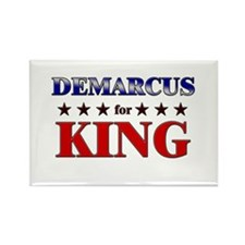 DEMARCUS for king Rectangle Magnet