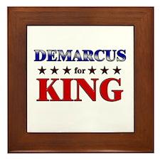 DEMARCUS for king Framed Tile