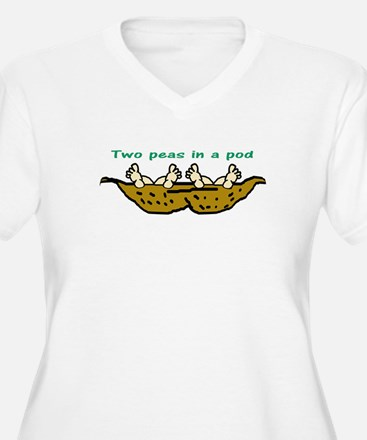 """Two Peas"" Twin T-Shirt"