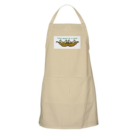 """Two Peas"" Twin BBQ Apron"