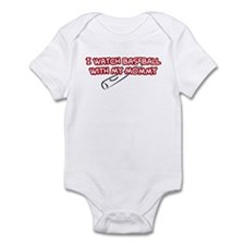 Cincinnati Baseball Mommy Infant Bodysuit