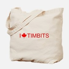I love Timbits Tote Bag