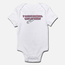 Boston Baseball Daddy Infant Bodysuit