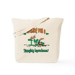 Naughty Leprechaun Tote Bag