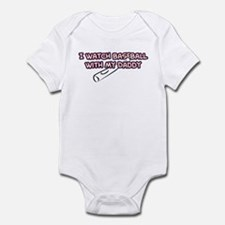 Anaheim Baseball Daddy Infant Bodysuit