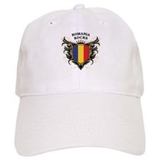 Romania Rocks Baseball Cap