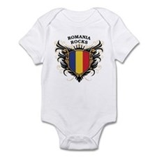 Romania Rocks Infant Bodysuit