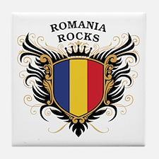 Romania Rocks Tile Coaster