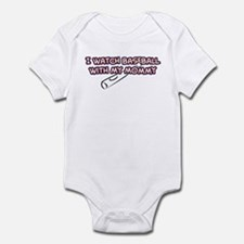 Anaheim Baseball Mommy Infant Bodysuit