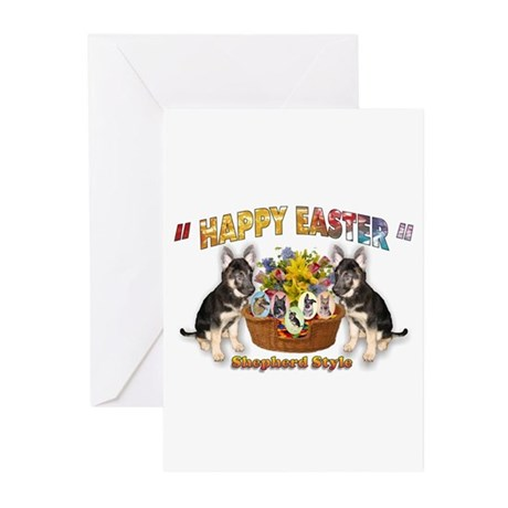 Shepherd Style Easter Greeting Cards (Pk of 20)