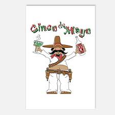 Cinco de Mayo Bandido Postcards (Package of 8)