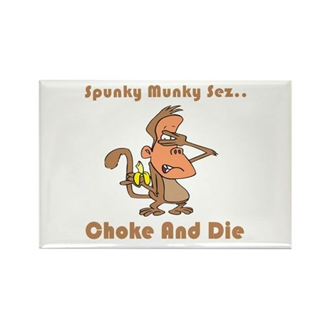Choke and Die Rectangle Magnet (10 pack)