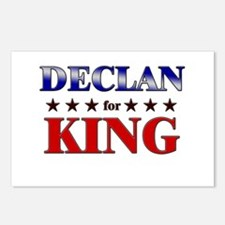 DECLAN for king Postcards (Package of 8)