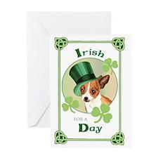 St. Patrick Chihuahua Greeting Card