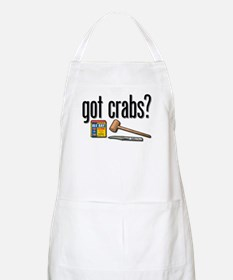 """got crabs?"" BBQ Apron"