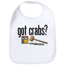 """got crabs?"" Bib"