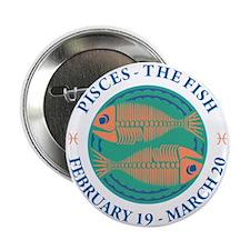 """Pisces 2.25"""" Button"""