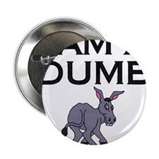 """Funny Dumb asses 2.25"""" Button (10 pack)"""