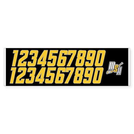 MSH Helmet Numbers