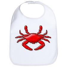 """Red Crab"" Bib"