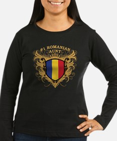 Number One Romanian Aunt T-Shirt