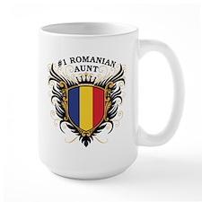Number One Romanian Aunt Mug