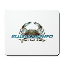 Cool Blue crab Mousepad