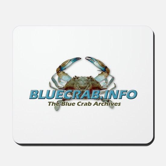 Funny Blue crabs Mousepad