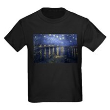 Cute Starry night van gogh T