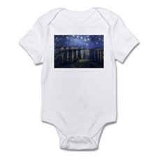 Unique The starry night Infant Bodysuit
